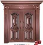 Imitation Copper Doors